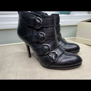 Leather COACH Booties size 6.5